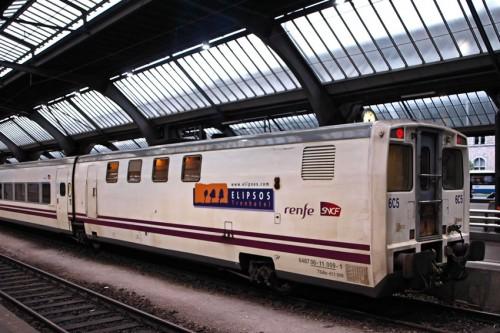 vagon TrenHotel Elipsos