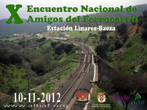 X Encuentro Nacional de Amigos del Ferrocarril en Linares-Baeza