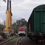 Maniobra remolque tren