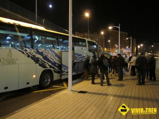 Autobus estacion Gijon