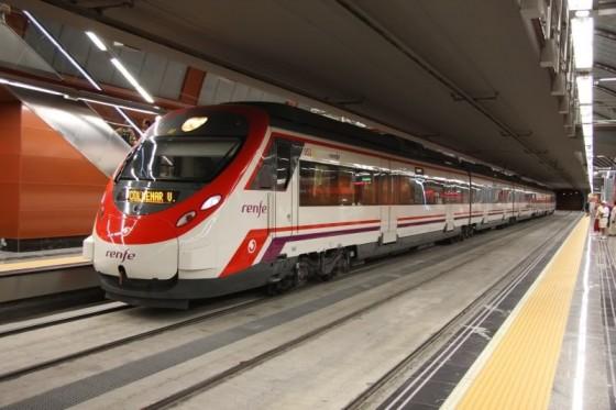 RENFE refuerza, durante las navidades, las líneas C-3, C-4 y C-9 de Cercanías Madrid