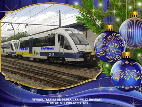 Felicitacion navideña VivirElTren.es