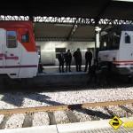 Maniobra acople trenes