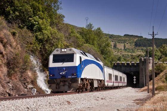Talgo tunel de Somosierra