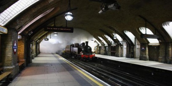 Tren de Vapor Londres