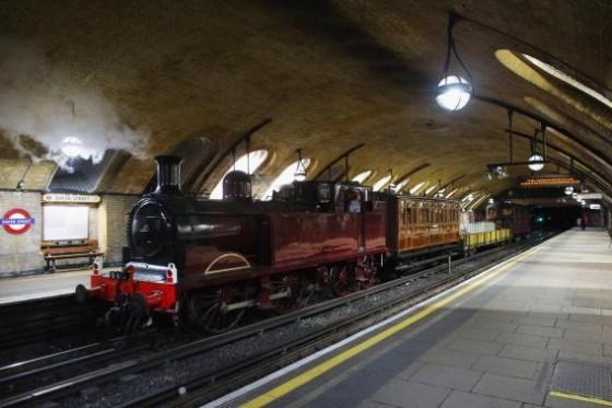 Tren de Vapor Metro Londres