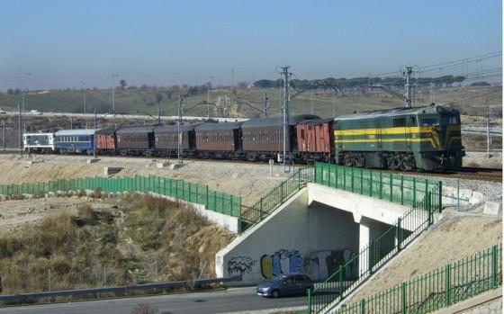 El Tren de Navidad vuelve a circular estas navidades entre el Museo del Ferrocarril de Madrid y Pinto