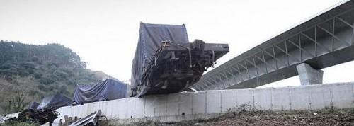Descarrilla tren Unquera