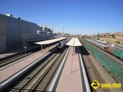 Electrificacion tren Salamanca