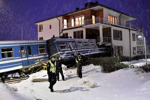 Robo tren Suecia