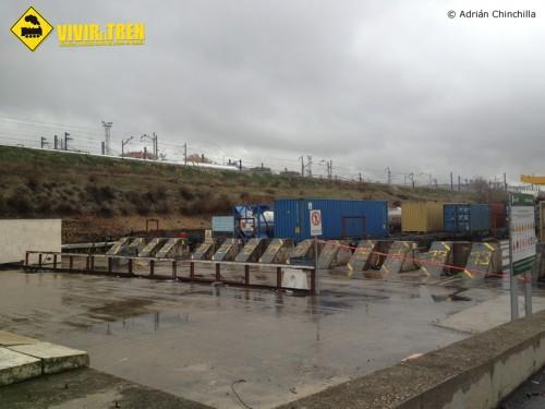 Trenes mercancías Madrid