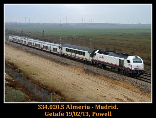 Intercity Madrid Almeria