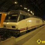 Máquina Renfe estación de França