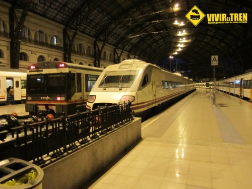 Trenes estación de França