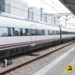 Andén estación Gijón
