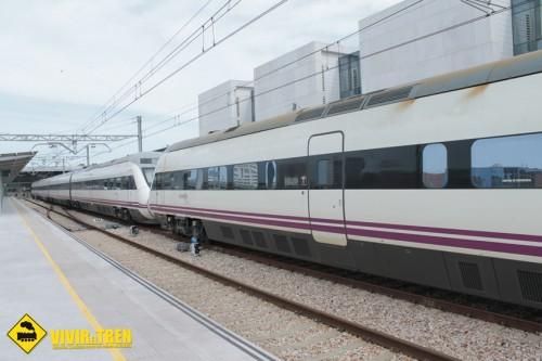 Primer Intercity Gijón Sanz Crespo – Madrid Chamartín en doble composición