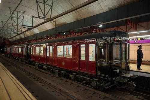 El 24 de abril circulará el histórico M1-M6-M8, el primer convoy del metro de Barcelona