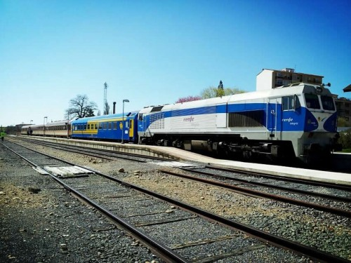Viaje de la Asociación de Amigos del Ferrocarril de Madrid a Soria