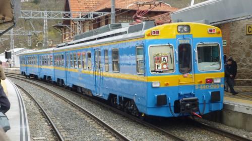 Temporada 2013 del Tren Río Eresma Madrid – Segovia