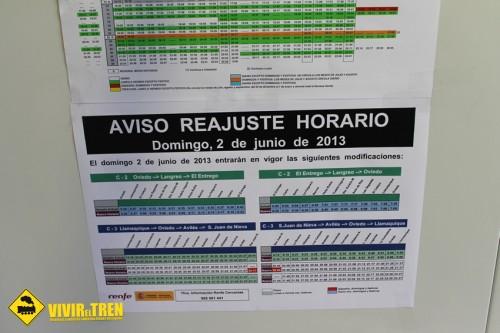 Horario Cercanías Asturias