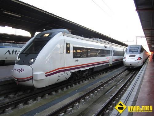 El servicio de Media Distancia Santander – Valladolid será operado por trenes S-449 y S-599