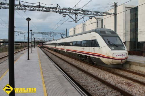 Intercity Madrid Chamartín – Gijón/Santander con material S-121 de CAF
