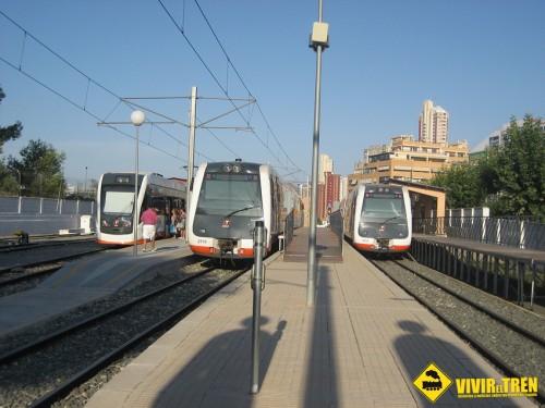 Dispositivo especial del TRAM Metropolitano de Alicante para las fiestas de Hogueras