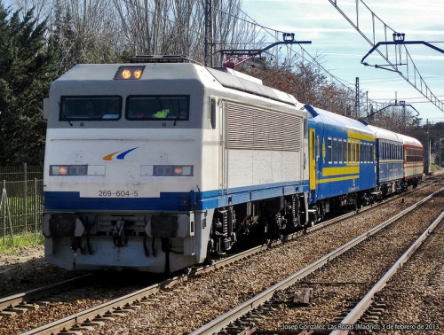 Viaje de la Asociación de Amigos del Ferrocarril de Madrid a Santander