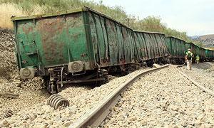 Descarrilamiento tren Extremadura