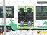 Puerta minusvalidos Tram Cadiz