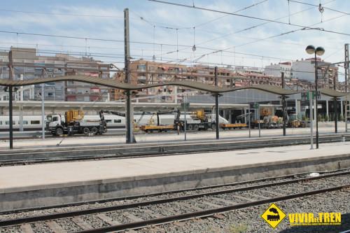Los trenes del Corredor Mediterráneo y Regionales ya acceden a la estación de Alicante por el nuevo túnel