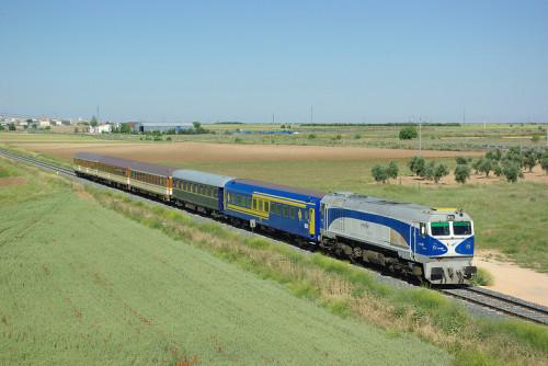 Tren especial a Ávila con motivo del 150 aniversario de la llegada del tren y las fiestas de Santa Teresa
