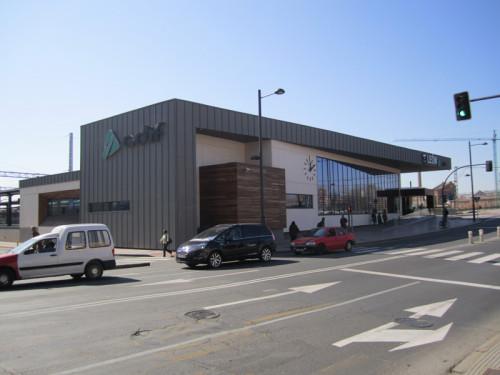 La estación en «fondo de saco» de León presenta un elevado riesgo de registrar accidentes