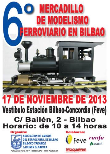 Mercadillo Asociación de amigos del ferrocarril Bilbao