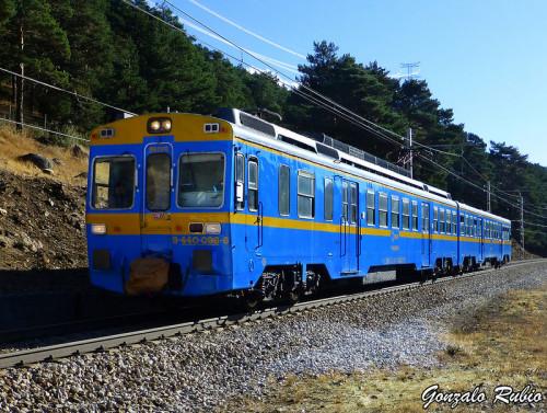 El 7 de diciembre viaje en el tren histórico 440-096 a Santa María de Huerta y Arcos de Jalón