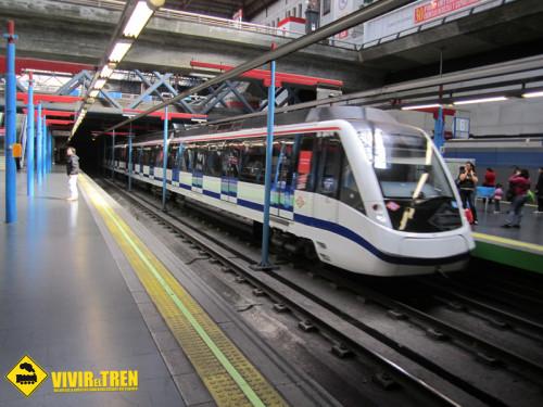 Metro Madrid navidad