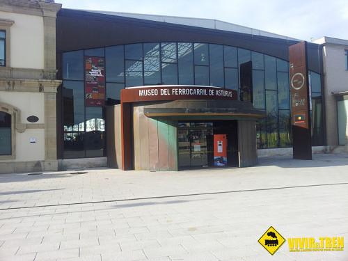 Olla ferroviaria Museo Ferrocarril Asturias