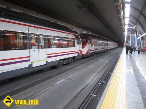 Tunel Sol Cercanias Madrid