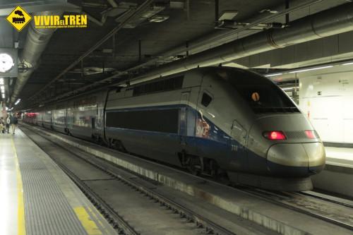 Viaje a Barcelona (I). TGV Dúplex Dasye