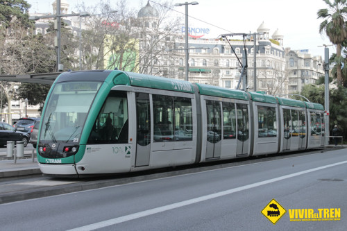 Viaje a Barcelona (II). Tranvía Barcelona