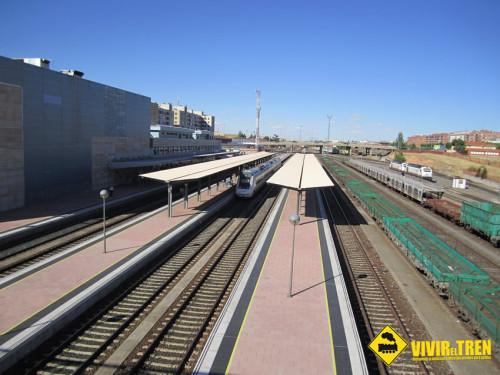 Renfe incrementa los viernes las plazas entre Salamanca, Valladolid y Palencia
