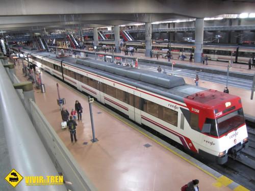 Obras en la infraestructura en el núcleo de Cercanías Madrid