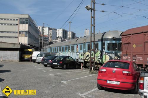Saqueados y desvalijados el TER 9736 y la rama 1B19 del Talgo III en Bilbao