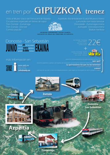 Viaje al Museo Vasco del Ferrocarril organizado por la Asociación de Amigos del Ferrocarril de Guipuzcoa