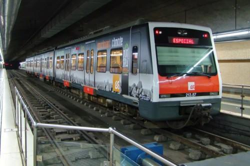 Nuevo tren turístico Montserrat Expres de FGC