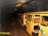 Tren Samuño tunel