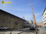 Derribo estacion Gijón