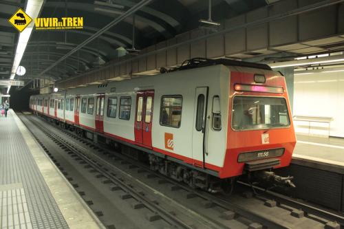 FGC subasta material ferroviario de las unidades de la serie 111 por eBay