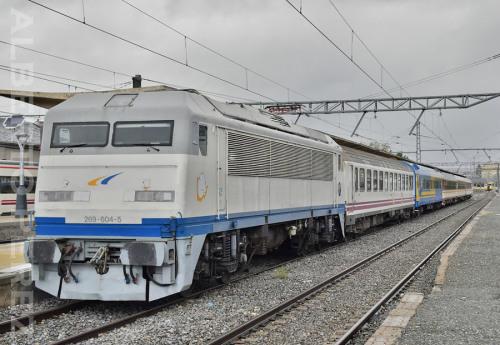 Tren de las Gachas Madrid Chamartín – Alcázar de San Juan