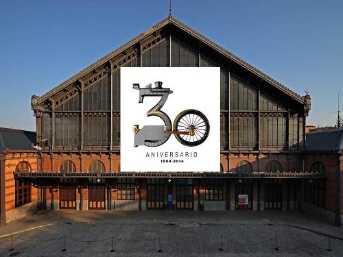 30º aniversario de la apertura del Museo del Ferrocarril de Madrid en Delicias